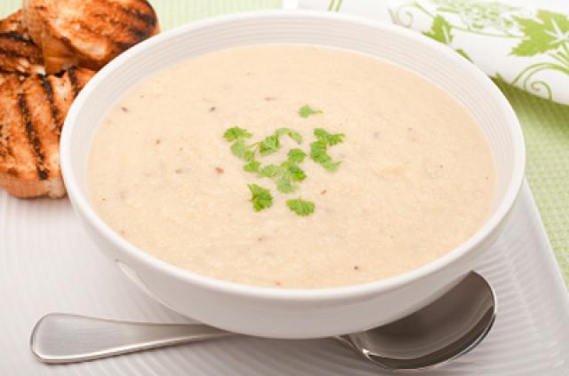 Деревенский суп из чеснока