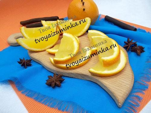 Десерт из апельсинов, рецепт с пошаговым фото
