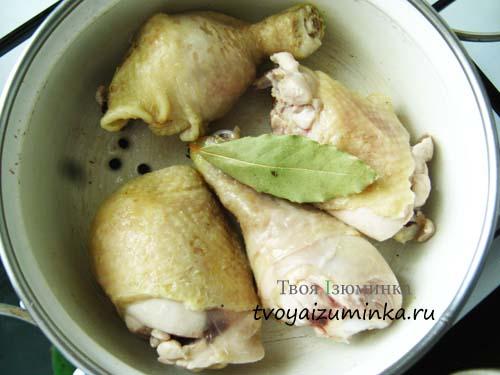 Курица со специями