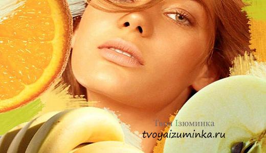 Натуральные продукты для предотвращения сухости и шелушения кожи
