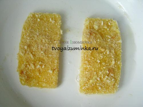 Обжаривание сыра