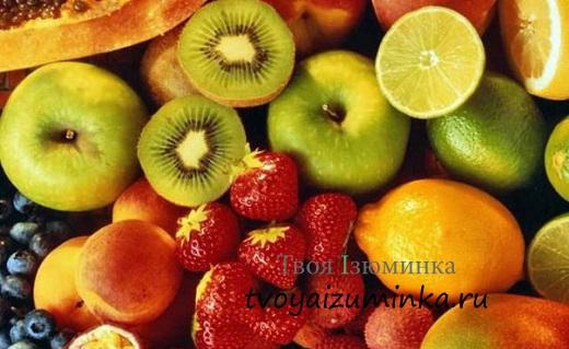 Витаминный рай. Чем полезны фрукты.