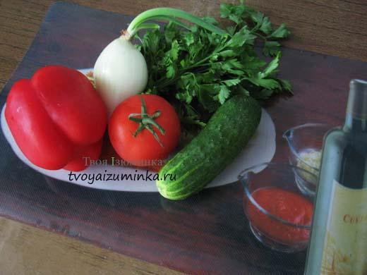 Салат из сладкого болгарского перца