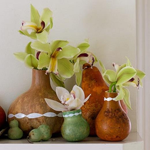 Декоративные композиции из тыковок