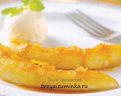Банановый десерт: рецепт