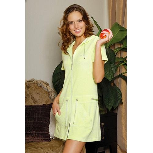 Домашнее платье с карманами