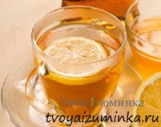 Лимонно-медовый напиток с перцем