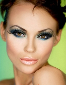 Новогодний макияж-2013