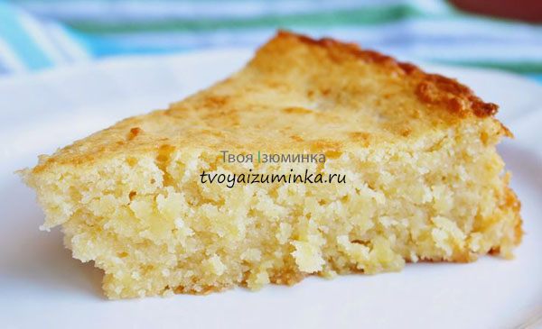 Пирог-творожник