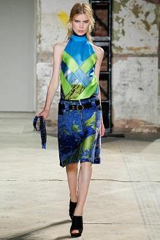 Мода весна 2013 геометрические формы