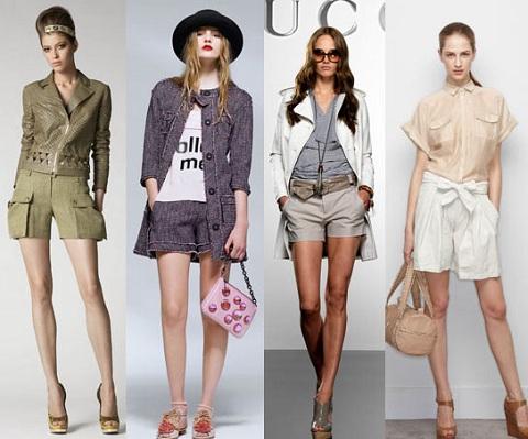 Модные шорты-бермуды
