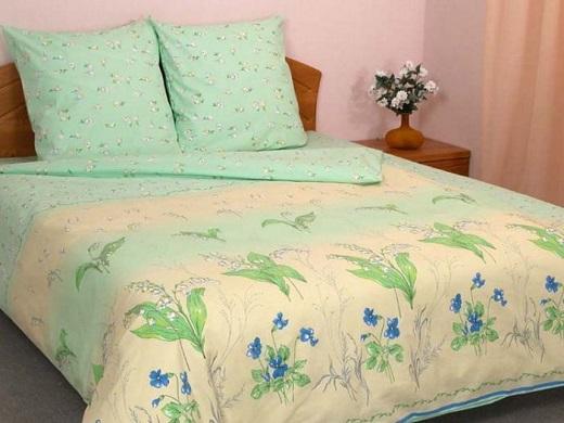 Постельное белье Зелень ландышей