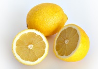 """Оригинал схемы вышивки  """"Лимоны """"."""