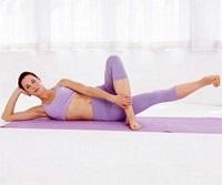 Упражнение для внутренней поверхности бедра