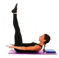 Упражнение для плоского животика