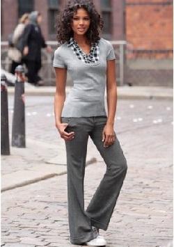 Твидовые брюки