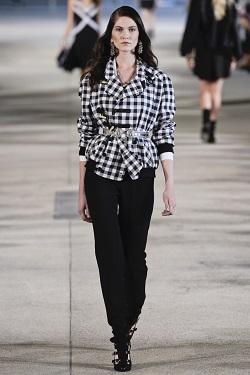 Черно-белый тренд весны 2013. Повседневная одежда.