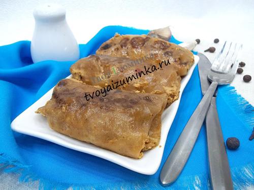 Рецепт приготовления голубцов с рисом и мясом с пошаговым фото