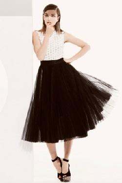 Ретро-стиль. Модный тренд сезона - черно белый цвет. Весна - лето 2013.
