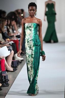 Модель платья - длина в пол