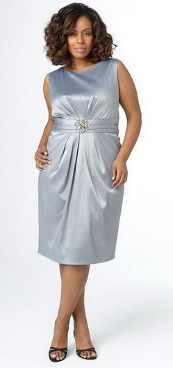 Платье-футляр - фасон для полных