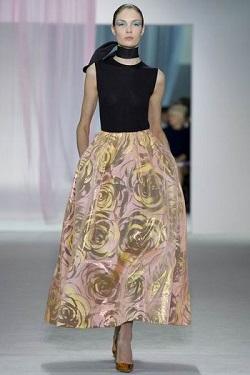 Длина платья по щиколотки