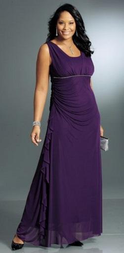 Какой длины должно быть платье. Длина в пол, ампир