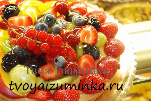Легкий йогуртовый торт - Дары лета