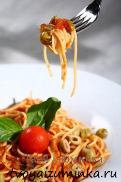 Как приготовить вкусно, быстро и полезно - спагетти