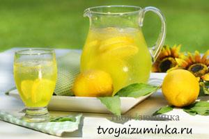 Как приготовить вкусно, быстро, полезно - домашний лимонад.