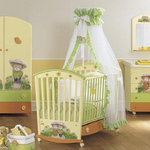 Как обустроить детскую комнату. Комната для новорожденного.