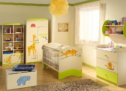Как обустроить детскую комнату. Комната новорожденного.