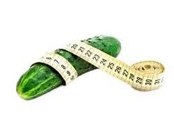 Огурцы для похудения.