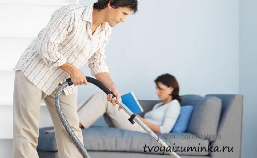 Если муж не помогает по дому – что делать?