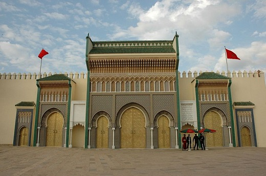 Город Фес в Марокко.