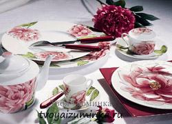 Как выбирать и ухаживать за посудой из стекла, фарфора, хрусталя. Какая посуда сегодня в моде. Фарфор.