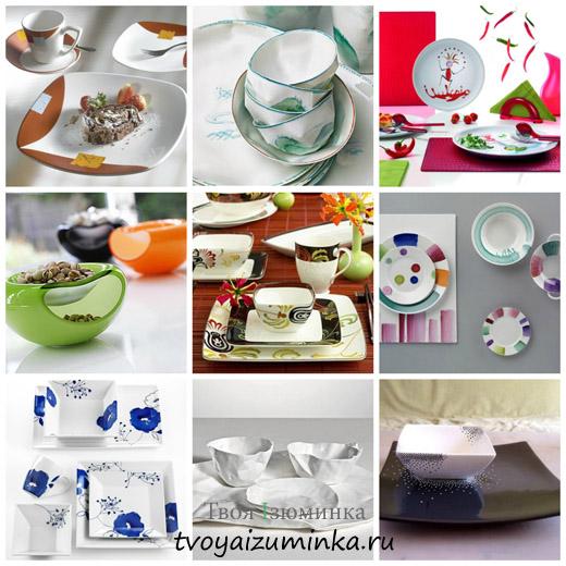 Как выбирать и ухаживать за посудой из стекла, фарфора, хрусталя. Какая посуда сегодня в моде
