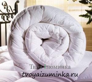 Как выбирать теплое одеяло. Пуховое одеяло.
