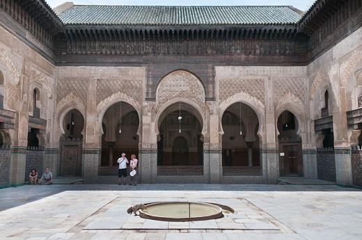Туры в Фес, Марокко. Удивительный Дворец медресе Боу Инания.
