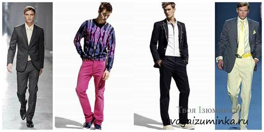 Выбор мужской одежды: на что опереться?