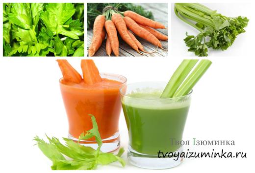 Как себе помочь при стенокардии, лечение народными средствами. Лечение овощными соками.