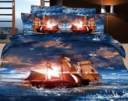 Выбор качественного постельного белья - чему отдать предпочтение. Белье с 3D изображением.