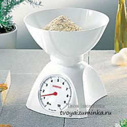 Как выбрать кухонные весы. Механические весы.