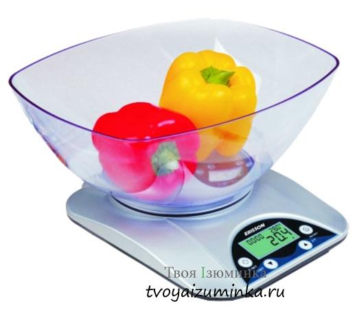 Как выбрать кухонные весы.