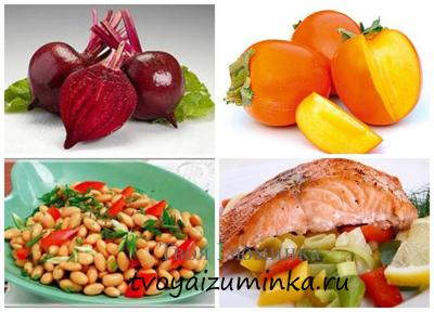 Продукты, полезные для щитовидной железы.