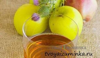 Как приготовить яблочный уксус для похудения - рецепт.