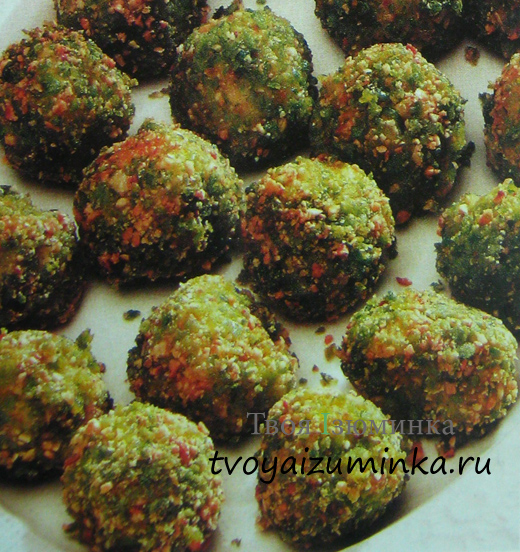 Вкусные крокеты — блюдо со стручковой фасолью