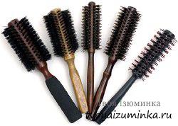 Брашинг для волос для выпрямления волос