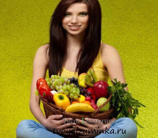 Осенняя фруктово-овощная диета для похудения