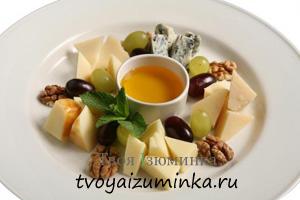Сырная тарелка